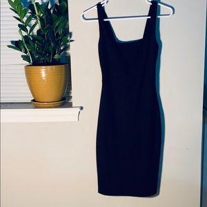 BLACK BODYCON DRESS. Size Small
